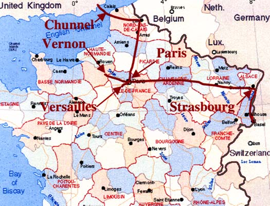 The 37 Trains We Rode – Train Travel France Map