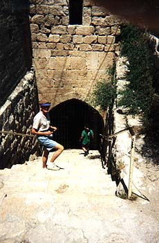 City of David and Hezekiah's Tunnel, Jerusalem V Shaped Valley