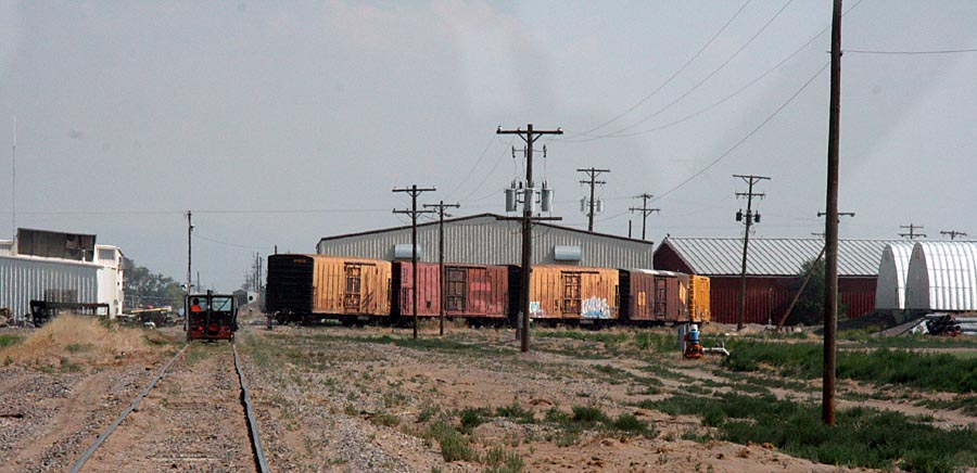 Reefers On The San Luis Central Rr